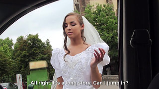 Super hot bride Amirah gets rejected and she gets picked up by a stranger