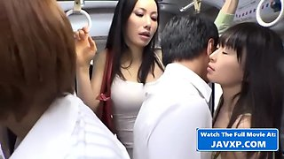 Japanese Teens Get Fucked On The Bus