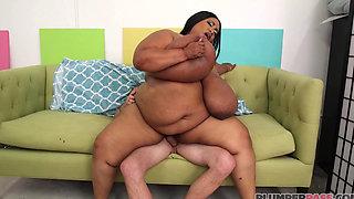 Sexy Busty Ebony Bbw (busty 46m 52N Boobs Wants A Double Cum Shot 2xFacial) 1080p