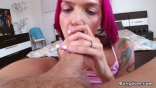 Anna Bell Peaks in Anna Bell Peaks Is A Squirting Freak - BangBros