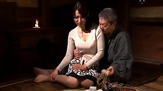Busty Asian wife has a passion for bondage and hardcore sex