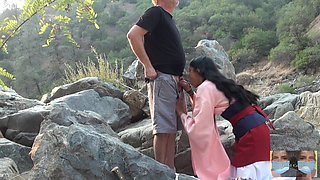 Mulan Viva Athena Seduces Passersby in Public