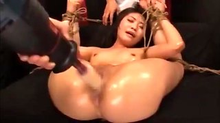 Japanese AV Screaming Orgasm Destroyed by Fucking Machine