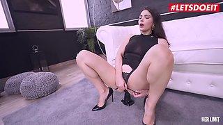 LETSDOEIT #Valentina Nappi Big Tits Italian MILF Anal Pounded By BBC