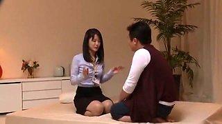 Exotic Japanese girl Mau Morikawa, Ai Wakana, Yuuha Sakai in Amazing Blowjob, Fingering JAV clip