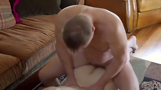 Mom's Daughter Watched Her Fuck Step-dad