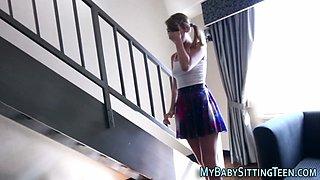teen babysitter spermed extreme