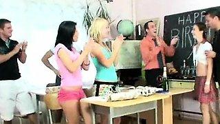 Horny school party