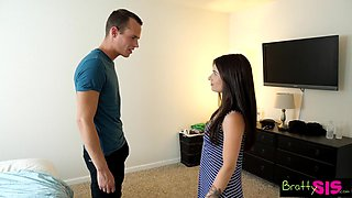 Bratty Sis - Brother Fucks Sister Better Than Her Boyfriend