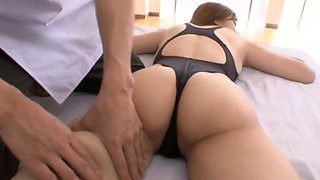 After working out in the gym cowgirl juicy pussy gets throbbed hardcore