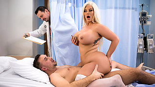 Julie Cash & Keiran Lee in Bedside Manner - BRAZZERS