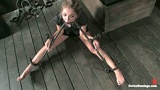 Bondage Prison For Naughty Girls Has Its First Victim!