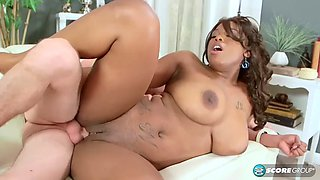Ebony with big Natural tits and phat ass