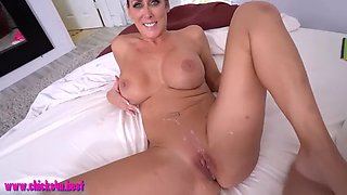 Stepmom helps her stepson out