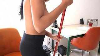 Horny amateur Big Tits, Black and Ebony sex video