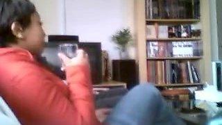 Hidden cam homemade blow and handjob