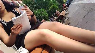 Super sexy turkish shiny tan pantyhose legs