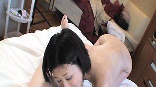 Chihiro Negishi - Sweet JAV Wife Riding A Hard Cock