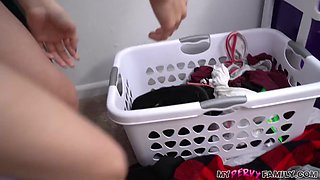 Perverted Horny Step-Bro Gets Busted Stealing Panties - MyPervyFamily