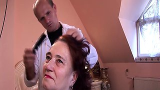 69 years mom fucked by hairdresser