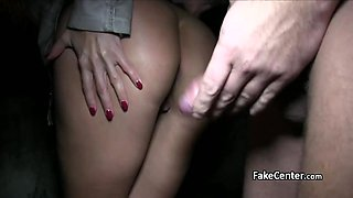 Double cumshot with two sisters