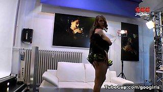 Horny pornstar Sexy Susi in Amazing Bukkake, Swallow adult scene