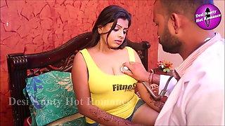 Indian Aunty Getting Big Boobs Pressing
