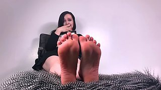 Foot Slave For Big Sister