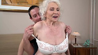 Crazy porn video Granny best only for you