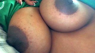 Big Busty tits Dark Nipples