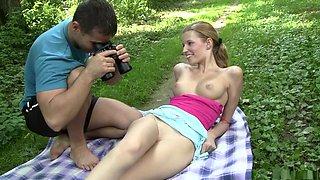 Hottest pornstar in horny outdoor, creampie sex movie