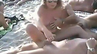 theSandfly Sexbites - Scenes From The Swingers' Beach!