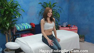 Our hidden spy cameras caught Evilyn the massage therapist