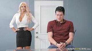 Busty beauty Ayda Swinger is in need of a fellow's cock